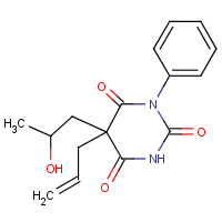 5-allyl-5-(beta-hydroxypropyl)-N-phenylbarbituric acid