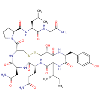 oxytocin, 1-(2-hydroxy-3-mercaptopropionic acid)-