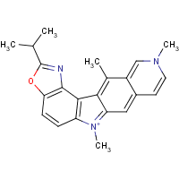 2-isopropyl-7,10,12-trimethyl-6H-(1,3)oxazolo(5,4c)pyrido(3,4-g)carbazole