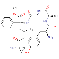 enkephalin-Leu methyl ester, Ala(2)-cyclopropyl-Phe(4)-