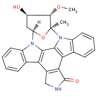 4'-demethylamino-4'-hydroxy-3'-epistaurosporine