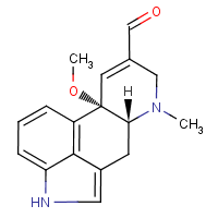 10 alpha-methoxy-delta (8,9)-lysergaldehyde