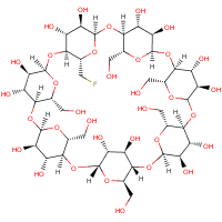 6-deoxy-6-fluorocyclomaltoheptaose