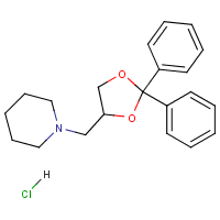 2,2-diphenyl-4-piperidinomethyl-1,3-dioxolane