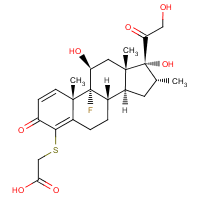 4-(carboxymethylthio)dexamethasone