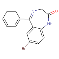 7-bromo-5-phenyl-1,2-dihydro-2H-1,4-benzodiazepin-2-one