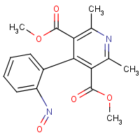 2,6-dimethyl-4-(2'-nitrosophenyl)-3,5-pyridinedicarboxylic acid dimethyl ester