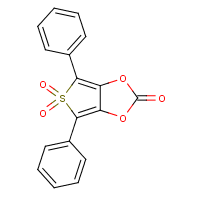 4,6-diphenylthieno(3,4-d)(1,3)dioxol-2-one-5,5-dioxide