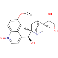 10,11-dihydroxydihydroquinidine N-oxide