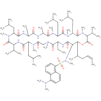 dansylisocyclosporin A