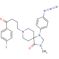 4-azido-N-methylspiperone