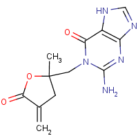 1-((2-methyl-5-methylene-5-oxotetrahydrofuran-2-yl)methyl)guanine