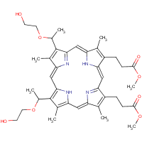 2,4-di-(2-hydroxyethoxy)ethyl-deuteroporphyrin IX