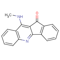 10-methylamino-11-H-indeno(2-b)quinoline-11-one