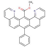 methyl 7-phenylbenzo(1,2-h-5,4-h')diquinoline-14-carboxylate
