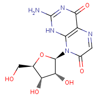 isoxanthopterin-N-8-beta-D-ribofuranoside