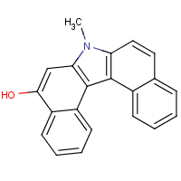 5-hydroxy-N-methyl-7H-dibenzo(c,g)carbazole