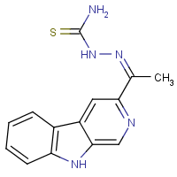3-acetyl-beta-carboline thiosemicarbazone