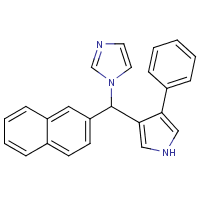 2-naphthyl-1H-imidazol-1-yl-4-phenyl-1-pyrrol-3-ylmethane