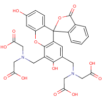 2,4-bis(N,N'-di(carboxymethyl)aminomethyl)fluorescein