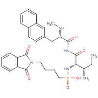 N-(((phthalimidyl)butyl)phospho)isoleucyl-beta-naphthylalanine methylamide