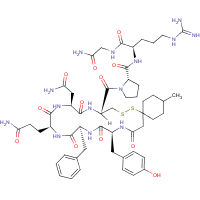 argipressin, (1-mercapto-4-methylcyclohexaneacetic acid)(1)-