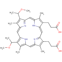 2,4-di-(alpha-methoxyethyl)deuteroporphyrin IX